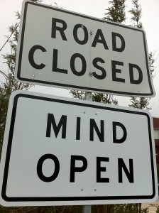 Road Closed • Mind Open